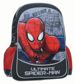 Τσάντα: Δημοτικού οβάλ πλάτης Spiderman